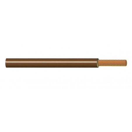Cable Eléctrico Flexible Normal 4 mm² MARRÓN 450-750V H07V-K