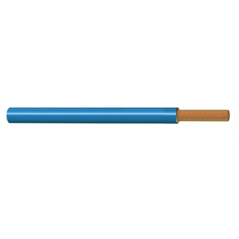 Cable Unipolar Eléctrico Normal 4 mm² AZUL 450-750V H07V-K