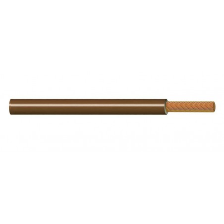 Cable Eléctrico Flexible Normal 6 mm² MARRÓN 450-750V H07V-K