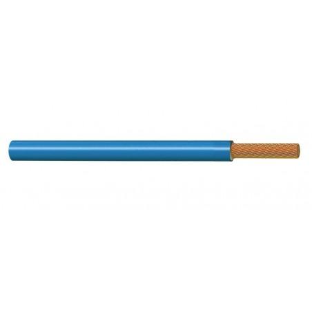 Cable Unipolar Eléctrico Normal 6 mm² AZUL 450-750V H07V-K