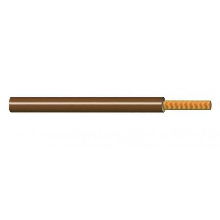 Cable Flexible Libre de Halógenos 1 mm² MARRÓN 300-500V ES05Z1KAS