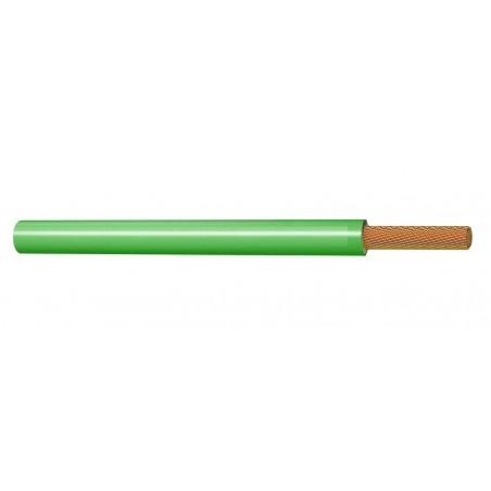 Cable Eléctrico Flexible Normal 4 mm² Verde 450-750V H07V-K