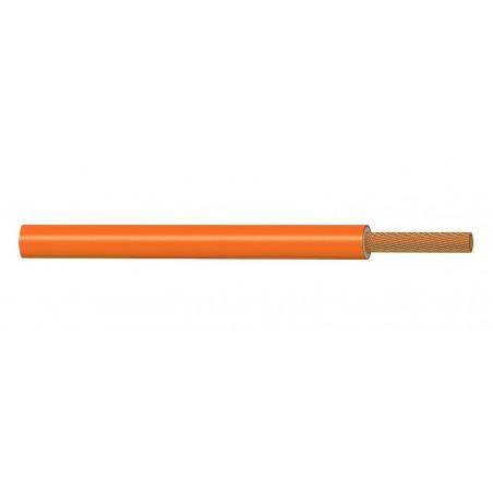 Cable Eléctrico Flexible 1 mm² NARANJA H05V-K 300-500V