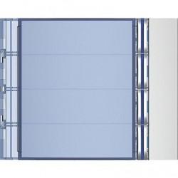 Frontal Módulo 4 Pulsadores 1 Columna 352041 Tegui SFERA NEW
