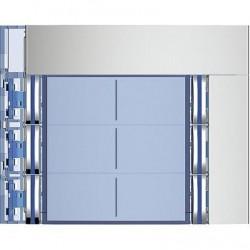 Frontal Módulo 6 Pulsadores 2 Columnas SFERA NEW 352161 Tegui