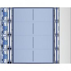 Frontal SFERA NEW Tegui Módulo 8 Pulsadores 2 Columnas 352181