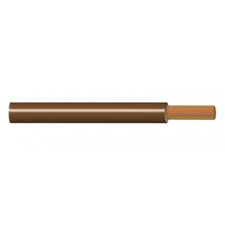Cable Eléctrico Libre de Halógenos 16 mm² MARRÓN H07Z1-K 750V