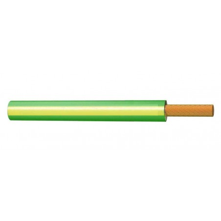 Cable AMARILLO VERDE Libre de Halógenos 25 mm² 750V H07Z1-K (AS)