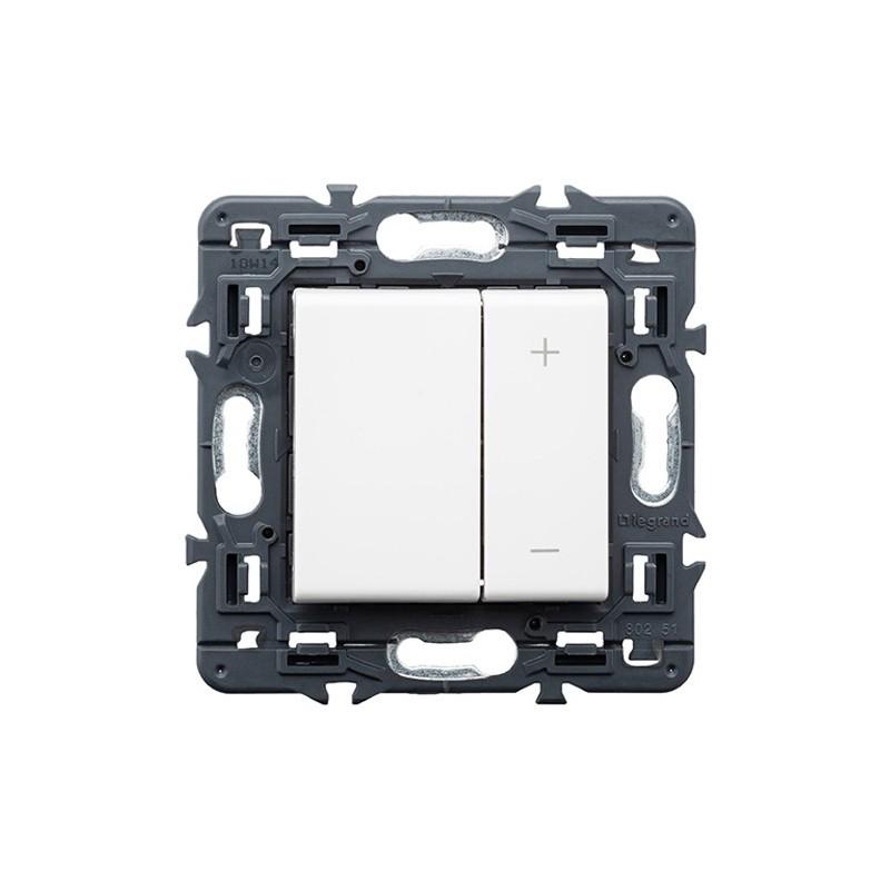 Ecoregulador de luz 2 Hilos Legrand Valena Next Blanco 741254