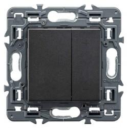 Ecoregulador para luz 2 Hilos Legrand Valena Next Dark 741454