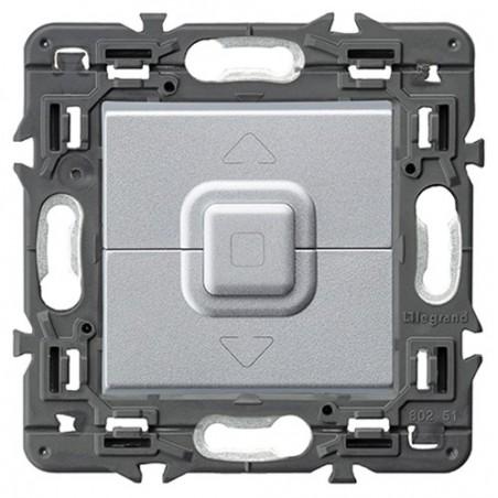 Doble Pulsador para Persianas Legrand 741353 Valena Next Aluminio