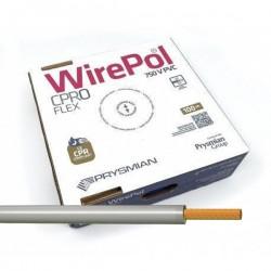 Cable flexible normal 4 mm² Gris 750V H07V-K4GR 100 Metros