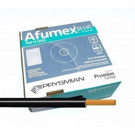 Cable Negro libre de halógenos ES07Z1KAS6NE 6 mm² 100 Metros