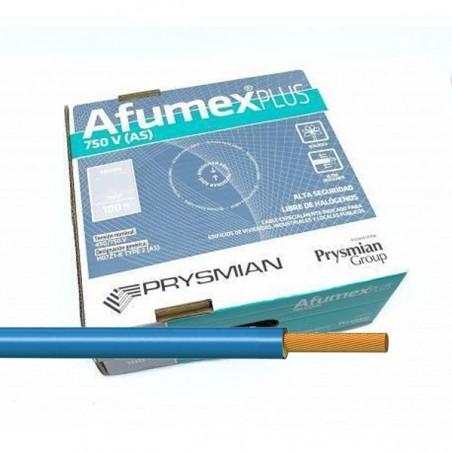 Cable libre de halógenos 6 mm² ES07Z1KAS6AZ Azul 100 Metros