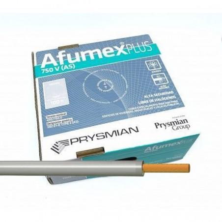 Cable flexible libre halógenos Gris 16 mm² ES07Z1KAS16GR 100 Metros