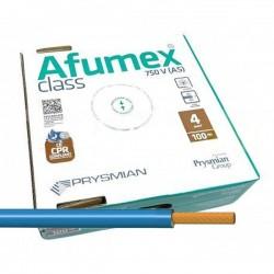 Cable Azul libre de halógenos ES07Z1KAS4AZ 4 mm² 100 Metros