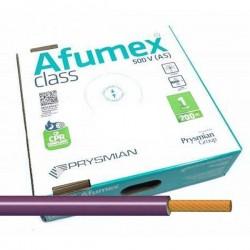 Cable flexible Violeta libre halógenos 1 mm² ES07Z1KAS1AVI 200 Metros