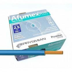 Cable Azul libre de halógenos ES07Z1KAS2,5AZ 2,5 mm² 200 Metros