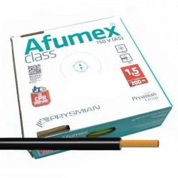 Cable flexible Negro libre halógenos 1,5 mm² ES07Z1KAS 200 Metros