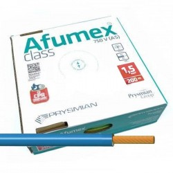 Cable libre de halógenos ES07Z1KAS Azul 1,5 mm² 200 Metros