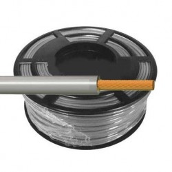 Cable Flexible Normal 1 mm² Gris 100 Metros H07V-K1GRCA