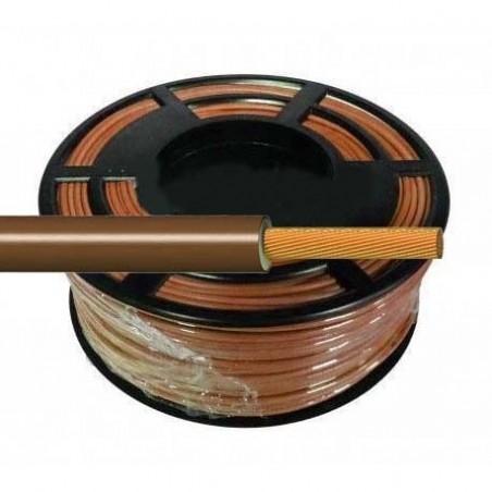 Cable Flexible Normal 1 mm² Marrón 100 Metros H07V-K1MACA