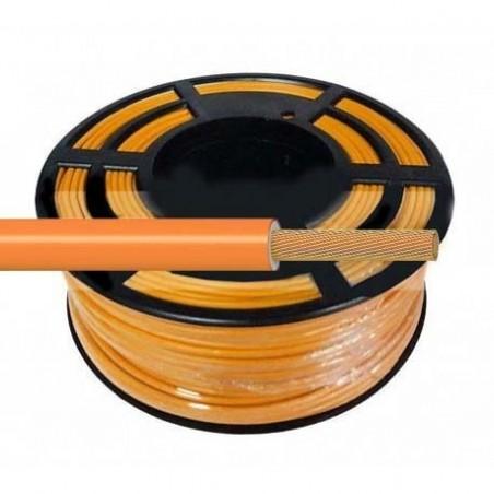 Cable Flexible Normal 1 mm² Naranja 100 Metros H07V-K1NACA