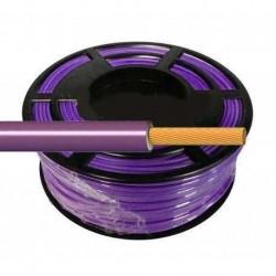 Cable Flexible Normal 1 mm² Violeta 100 Metros H07V-K1VICA