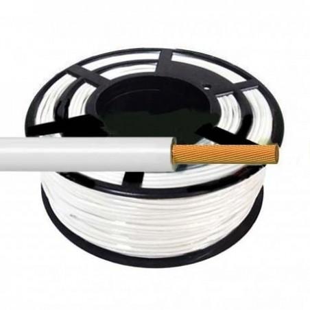 Cable Flexible Normal 1 mm² Blanco 100 Metros H07V-K1BLCA