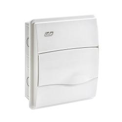 Caja Distribución de Empotrar IP40 1x8 Módulos Blanco BM8PO