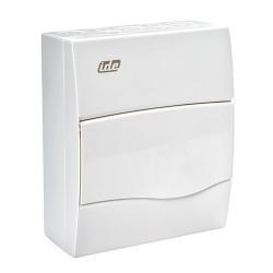 Caja de Superficie Automáticos IP40 1x8 Módulos Blanco BV8PO