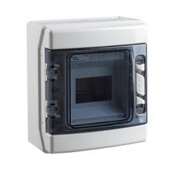 Caja Estanca Distribución IP65 Superficie 6 Módulos CDN6PT IDE