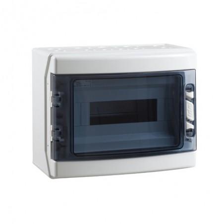 Caja para Automáticos Estanca IP65 Superficie 12 Módulos IDE CDN12PT