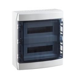 Caja Estanca para Automáticos CDN36PT 2x18 36 Módulos IP65 Superficie IDE