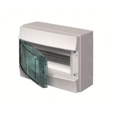 Caja Distribución Mistral65 ABB IP65 12 módulos Superficie 1SL1202A00