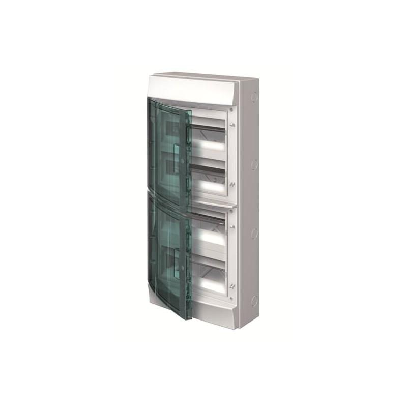 Caja Automáticos Superficie 48 módulos IP65 Superficie 1SL1207A00 Mistral65 ABB