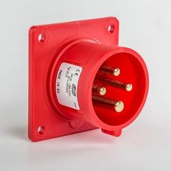 Clavija Empotrar Recta IP44 Baja tensión 3P+T 16A IDE 03112