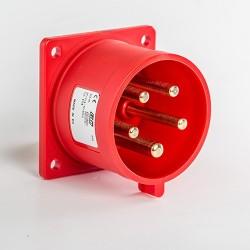Clavija Recta Baja tensión IP44 IDE 03116 3P+N+T 380V 32A