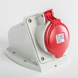 Base Mural IDE para Baja tensión IP44 3P+N+T 380V 16A 03323