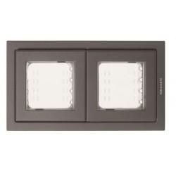 Marco e ventanas IP55 Niessen Zenit Antracita N3272 AN
