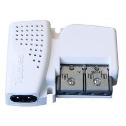 Amplificador de Vivienda 2 salidas + TV Ganancia 20 dB 560543