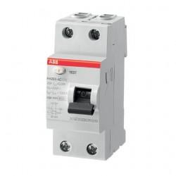 Interruptor Diferencial 63A 2 Polos ABB FH202AC-63/0,3 AC 300mA
