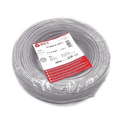 Cable eléctrico unipolar 1 mm² Gris H05V-K1GR 200 Metros