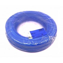 Cable electrico flexible H05V-K1AZ Azul 1 mm² 200 Metros