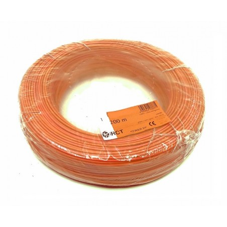 Cable flexible unipolar 1 mm² Naranja H05V-K1NA 200 Metros