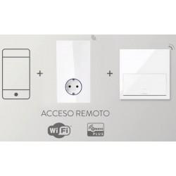 Kit Base de enchufe HUB PRO iO Blanco Simon 100