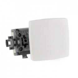 Pulsador 6A Blanco Legrand Oteo Componible 086106