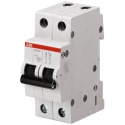 Interruptor Aut. Magnetotérmico 1 Polo + Neutro 6A SH201-C6NA ABB