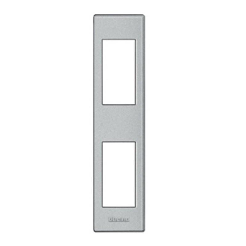 Placa para Perfilería 1+1 Módulo  Tech LND4812TE BTicino Livinglight