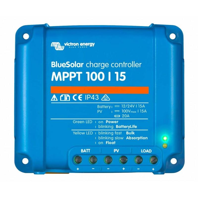 Regulador MPPT 100/15 Victron BlueSolar 12V/24V - 15A